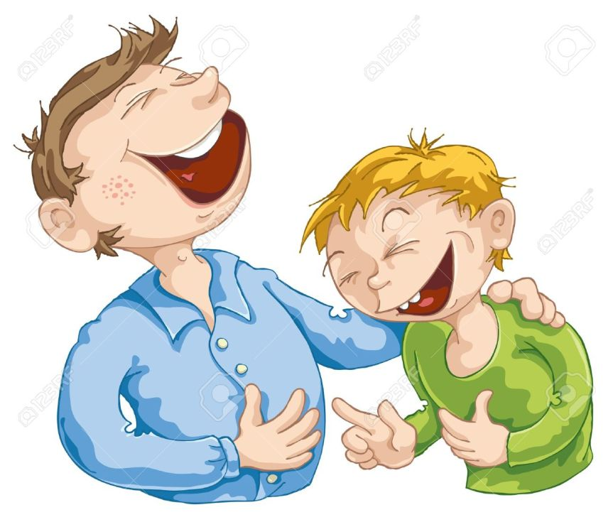 12002196-Father-told-a-funny-story-to-his-son--Stock-Vector-laugh-father-cartoon.jpg